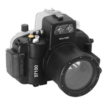 Kamera For Nikon D7100 (18-55mm) 潛水殼-黑(FOR D7100 (18-55mm))