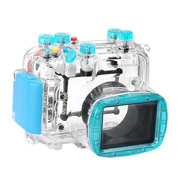 Kamera For Nikon Coolpix P7100 潛水殼-藍(FOR Coolpix P7100)