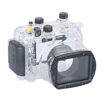 Kamera For Canon PowerShot G11 / G12 潛水殼-黑(FOR G11/G12)