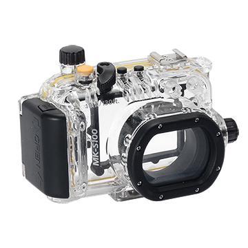 Kamera For Canon PowerShot S100V 潛水殼-黑(FOR S100V)