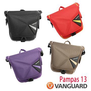 Vanguard 精嘉 單肩斜背相機攝影包(Pampas II 13 黑色)