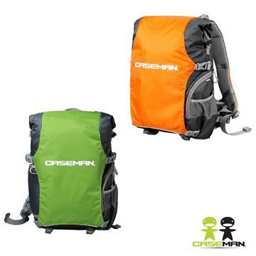 Caseman 卡斯曼 戶外攝影專用後背包 L(AOB4 綠色系)