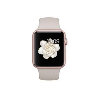 【42mm】Apple Watch Sport 石色運動 / 玫瑰金鋁金屬 MLC62TA/A()
