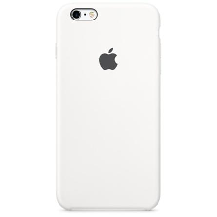 iPhone 6s Plus 矽膠護套-白色(MKXK2FE/A)