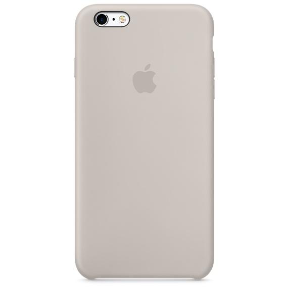 iPhone 6s Plus 矽膠護套-石色(MKXN2FE/A)