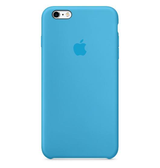 iPhone 6s Plus 矽膠護套-藍色(MKXP2FE/A)