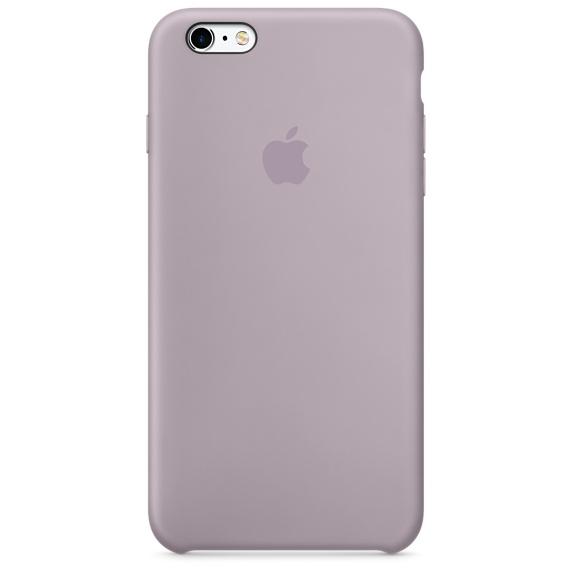 iPhone 6s Plus 矽膠護套-淡紫色(MLD02FE/A)