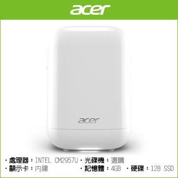 ACER RL85 CM2957U Graphics 5500 多媒體迷你桌上型電腦(RL85 2957U 128G W10)
