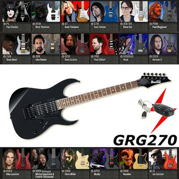 IBANEZ 電吉他 黑色款(GRG270)