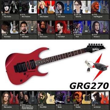 IBANEZ 電吉他 紅色款(GRG270)