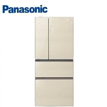 【福利品 】Panasonic 610公升ECONAVI四門玻璃變頻冰箱(NR-D618NHG-N(翡翠金))