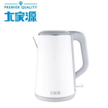 大家源1.8L不鏽鋼防燙無縫快煮壺(TCY-2628)