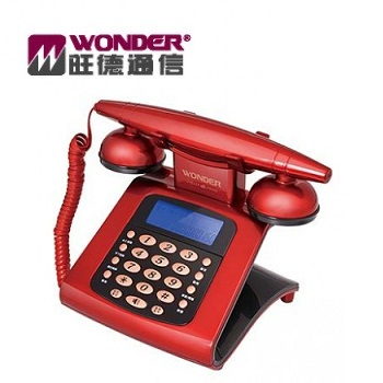 WONDER 仿古來電顯示電話機(WT-05)