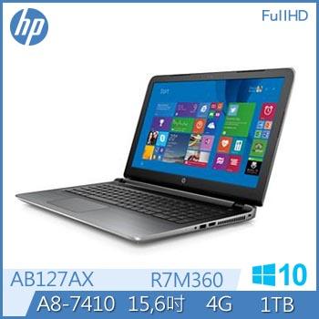 HP 15-ab127AX A8-7410 R7-M360 獨顯筆電(15-ab127AX)