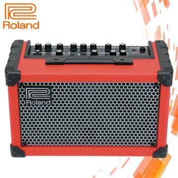 Roland 立體聲擴大音箱-紅(CUBE Street)