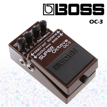 BOSS 超級八度音效果器 Super Octave(OC-3)