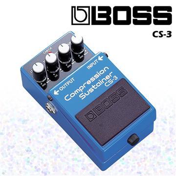 BOSS 壓縮效果器/單顆等化效果(CS-3)