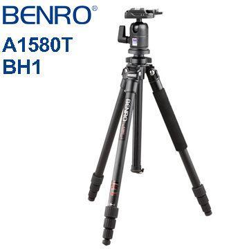 BENRO 百諾 A1580TBH1 經典系列BH雲台套組(A1580TBH1)
