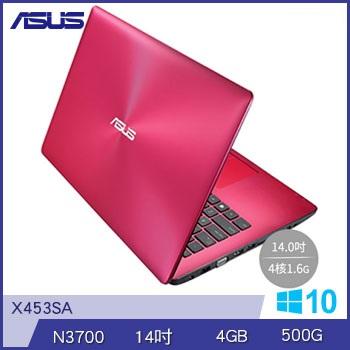 ASUS X453SA N3700 四核筆電(紅)(X453SA-0042DN3700紅)