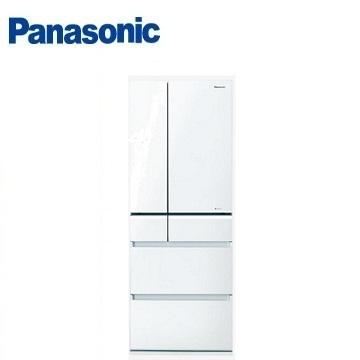 【福利品 】Panasonic 505公升頂級ECONAVI六門變頻冰箱(NR-F511VG-W1(翡翠白))