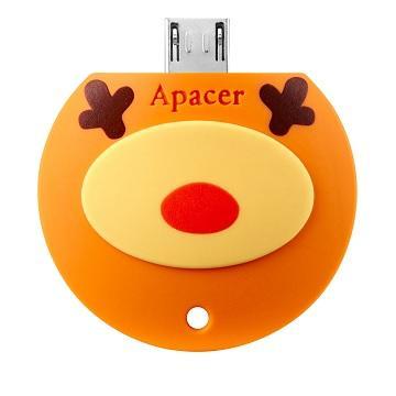 【32G】Apacer AH171 麋鹿隨身碟(AH171雪花鹿32GB)