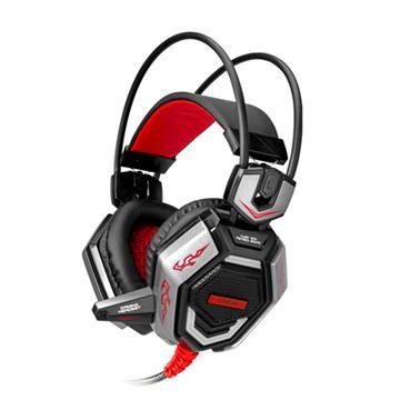 T.C.STARTCE9300電競頭戴式耳麥-紅