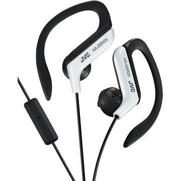 JVC HA-EBR25運動型耳掛式耳機-白(HA-EBR25-W)
