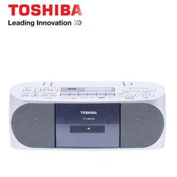 【福利品】TOSHIBA 藍牙/USB手提CD音響(TY-CWX320TW)