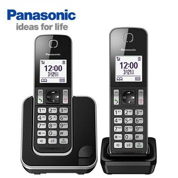 Panasonic中文顯示雙機數位無線電話