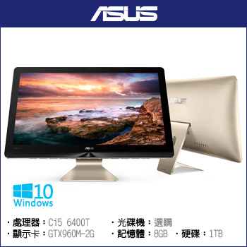 【22型】ASUS Zen AiO Pro Ci5-6400 Z220IC (Multi-touch)