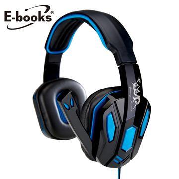 E-books S42電競頭戴耳機麥克風(E-EPA109)