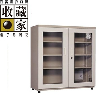 收藏家 左右門大型電子防潮櫃(箱) 372公升(AXH-350)