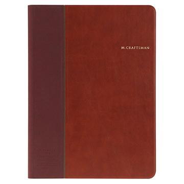 M.CRAFTSMAN iPad Pro多角度時尚保護套-棕(DT(DX)IPP02-CH)