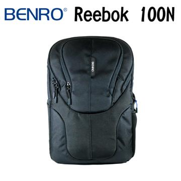 BENRO 百諾 REEBOK 100N 銳步系列 雙肩攝影後背包 (勝興公司貨) 黑色(REEBOK 100N)