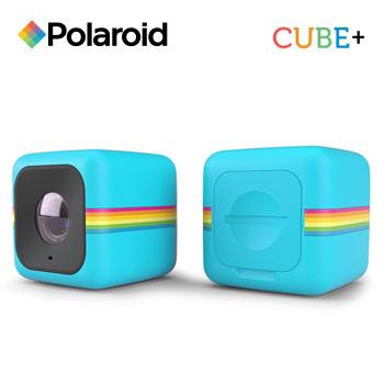 【福利品】PolaroidCube+運動攝影機-藍