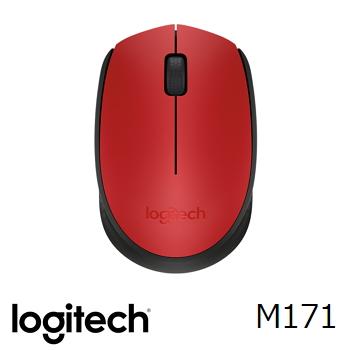羅技 Logitech M171 無線滑鼠 - 紅(910-004662)