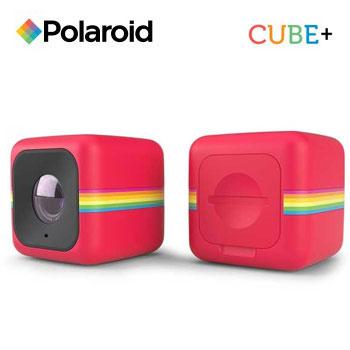 【福利品】PolaroidCube+運動攝影機-紅