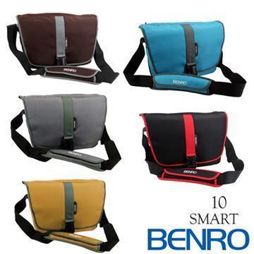 BENRO 百諾 SMART 10 精靈系列 單肩攝影側背包 (勝興公司貨) 咖啡色(SMART 10-咖啡)