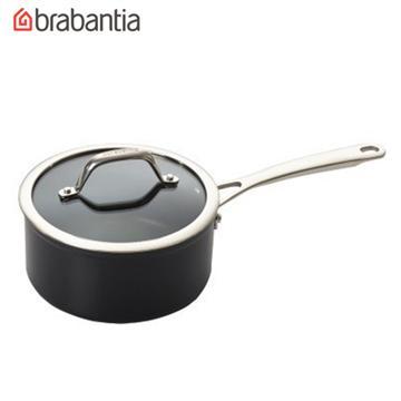 荷蘭BRABANTIA 18公分單把小湯鍋2.2L(Tritanium鈦系列)