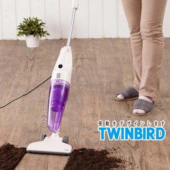 TWINBIRD 手持直立兩用吸塵器-薰衣草紫(TC-5121TWPU)