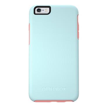 【iPhone 6s Plus】OtterBox Symmetry 防摔殼-粉藍(77-52381)