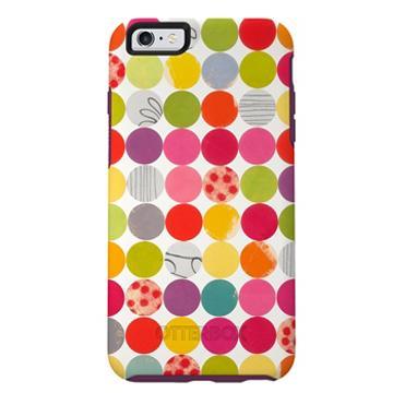 【iPhone 6s Plus】OtterBox Symmetry 防摔殼-圓點(77-52386)