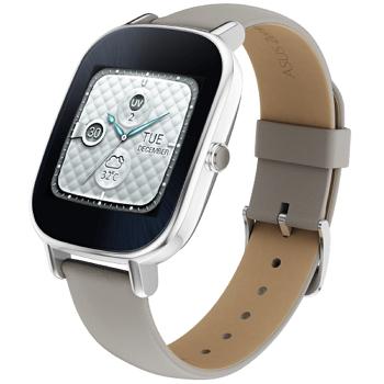 【展示品】ASUS ZenWatch2智慧錶 - 真皮裸膚色