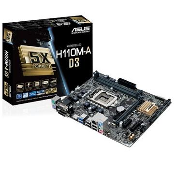 ASUS華碩 mini-ITX H110 主機板(H110M-A D3)