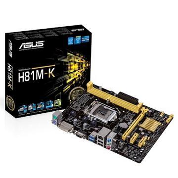 ASUS華碩 Micro-ATX H81 主機板(H81M-K)