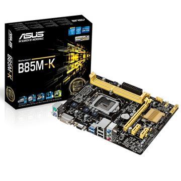 ASUS華碩 B85 microATX 主機板(B85M-K)