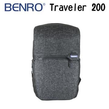 BENRO 百諾 TRAVELER 200 行攝者系列 雙肩攝影後背包 (勝興公司貨) 黑色(行攝者系列-黑色)