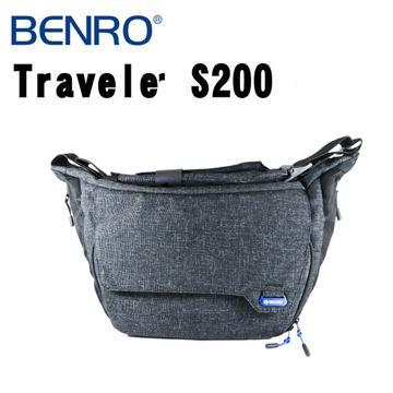 BENRO 百諾 TRAVELER S200 行攝者系列 單肩攝影側背包 (勝興公司貨) 黑色(行攝者系列-黑色)