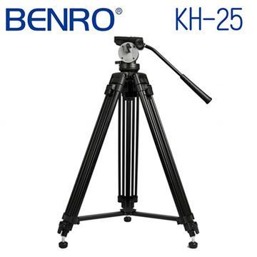 BENRO 百諾 KH25 雙管油壓雲台攝影腳架套組(KH25)