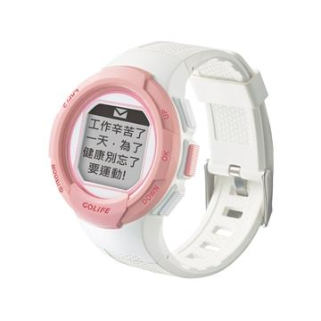 GOLiFE GoWatch110i 智慧運動錶-粉白